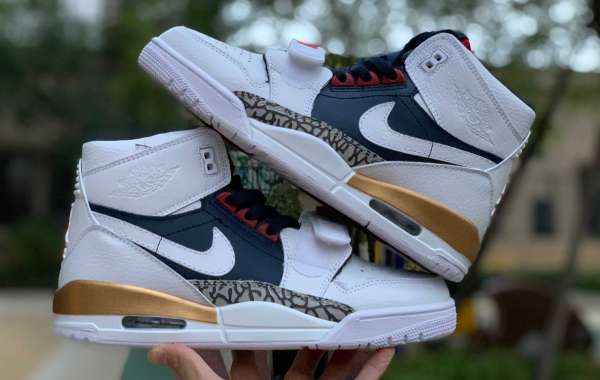 2020 Air Jordan Legacy 312 IN OLYMPIC COLORS AV3922-101 Hot Sell
