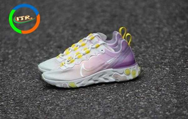 2020 Nike React Element 55 Release New Pink Color