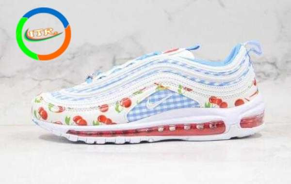Where to Buy Nike Air Max 97 Cherry Pink Blue?