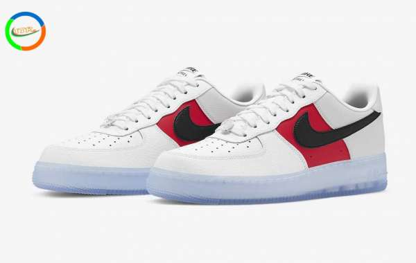 CT2295-110 Nike Air Force 1 Low EMB will be released with icy outsoles