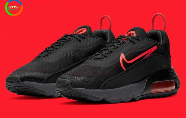 New Nike Air Max 2090 Black Radiant Red is Available Now