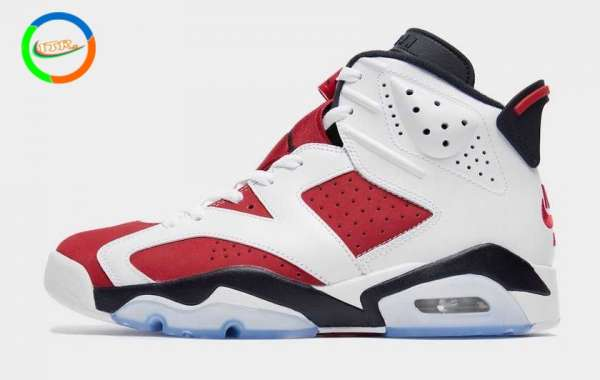 "Air Jordan 6 ""Carmine"" CT8529-106 will be officially released on February 13th"