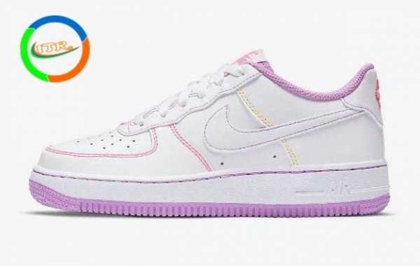 NIKE NEW ARRIVAL AIR FORCE 1 LOW ARRIVES WITH PASTEL STITCHING