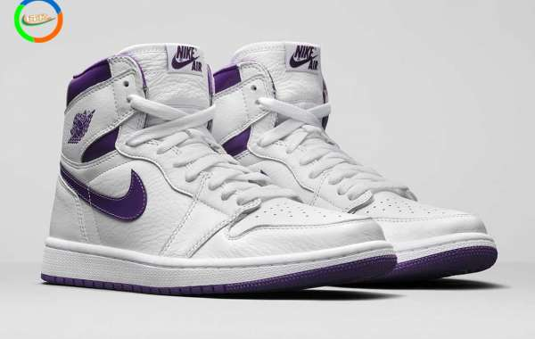 "Air Jordan 1 Retro High OG ""Court Purple"" pays tribute to the original ""metal"" in 1985"