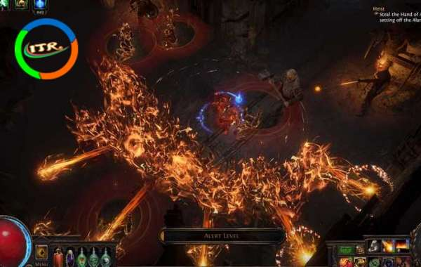 Introduce three rare currency orbs in Path of Exile