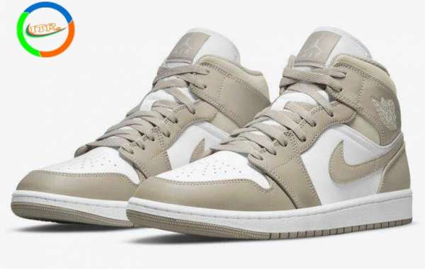 Air Jordan 1 Mid Linen Gonna Release for This Fall