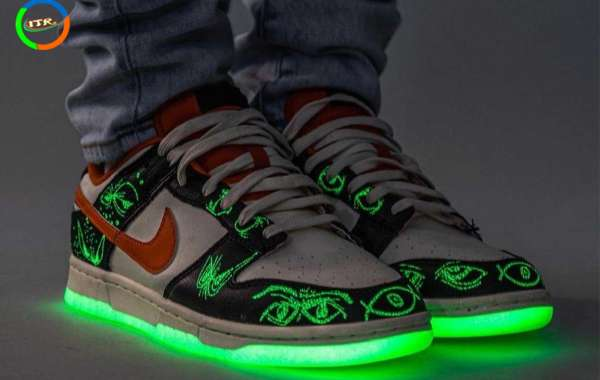 """DD3357-100 Latest Nike Dunk Low PRM """"Halloween"""" will coming in October"""
