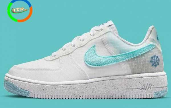 Latest Nike Air Force 1 Move To Zero Dropping With Tiffany Blue Swooshes