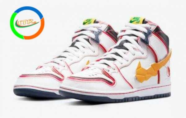 Most Popular Gundam x Nike SB Dunk High is Available Now