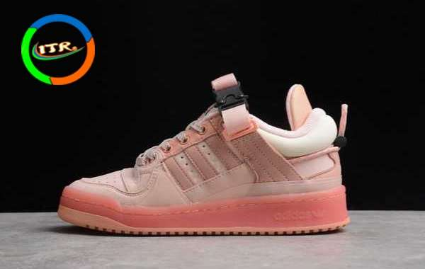 """Bad Bunny x adidas Forum Buckle Low """"Easter Egg"""" New Arrival GW0265"""
