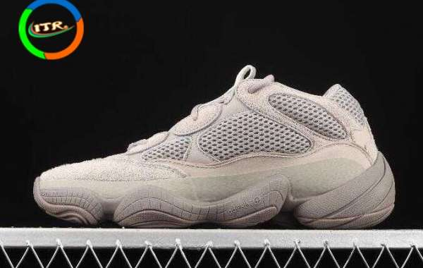 Adidas Originals Yeezy 500 Taupe Light Ash Grey GX3607 for Online Sale