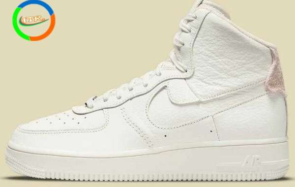 Strapless Nike Air Force 1 High Releasing With A Triple Sail Colorway